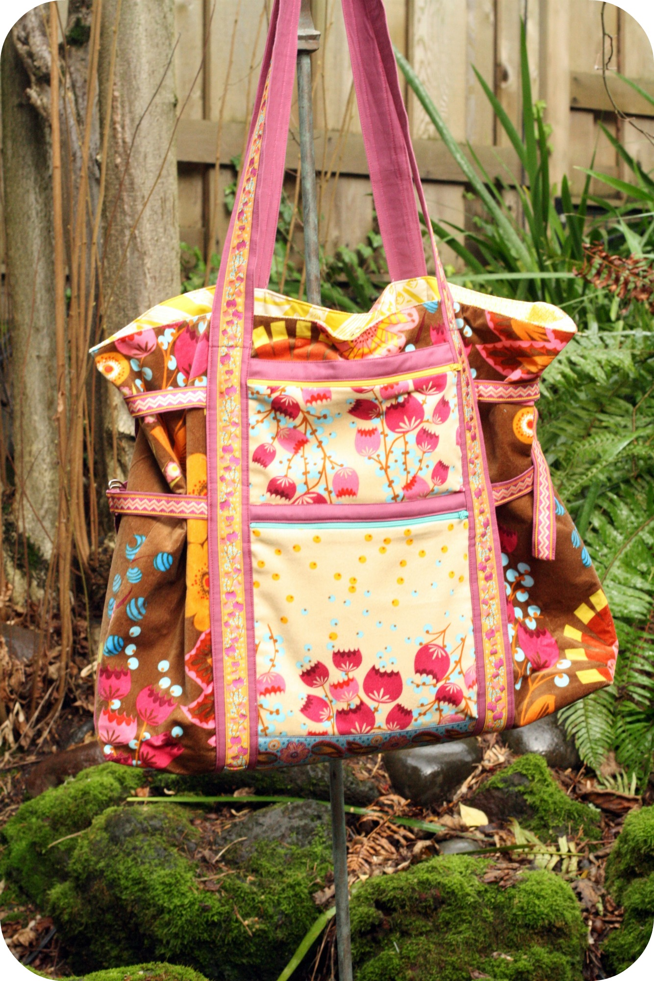 Art Student Tote Golden Willow Quilts
